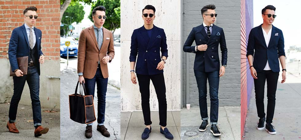 7 Tips To Wear Jeans With Blazers - ViralShut.com